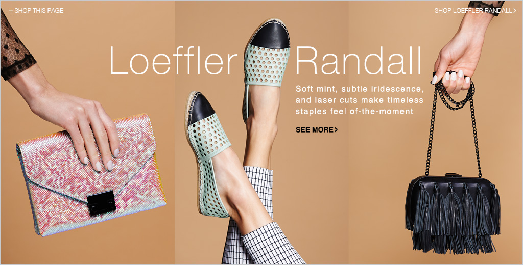Loeffler Randall sample sale NY