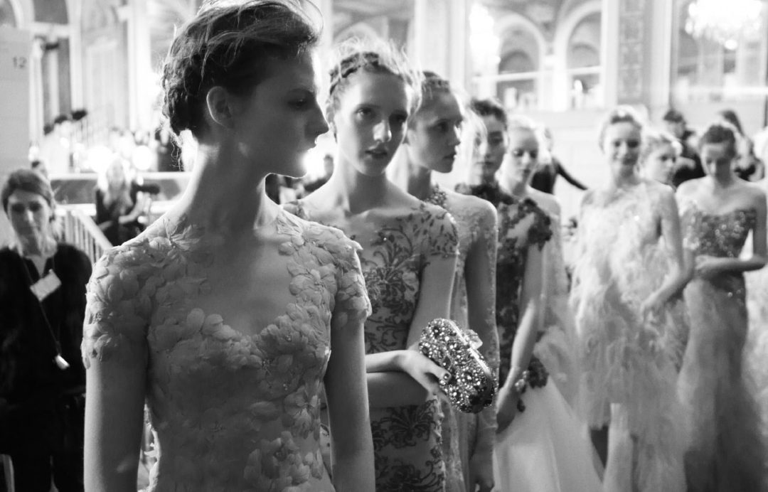 MARCHESA sample sale at Shelly and Renee