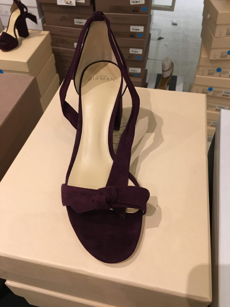 Alexandre Birman shoe at the Fivestory Sample Sale