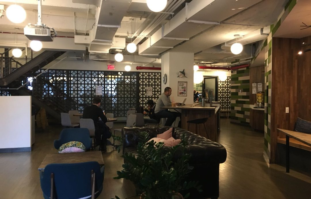 WeWork sample sale