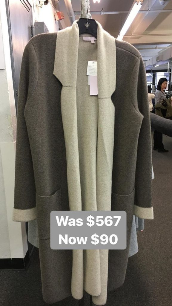The Cashmere Snowman sample sale NYC