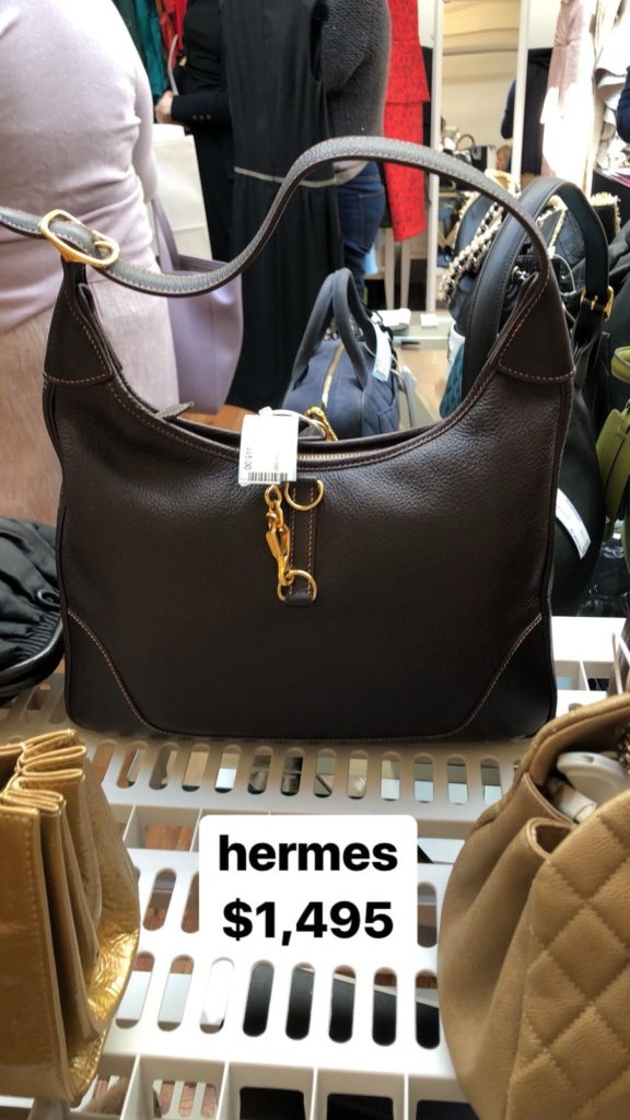 bf7c20be21d Bags and Gowns at the Vintage Chanel   Hermes Sample Sale – ShopDrop ...