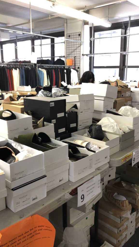 Theory x Helmut Lang Sample Sale