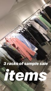 SANDY LIANG sample sale