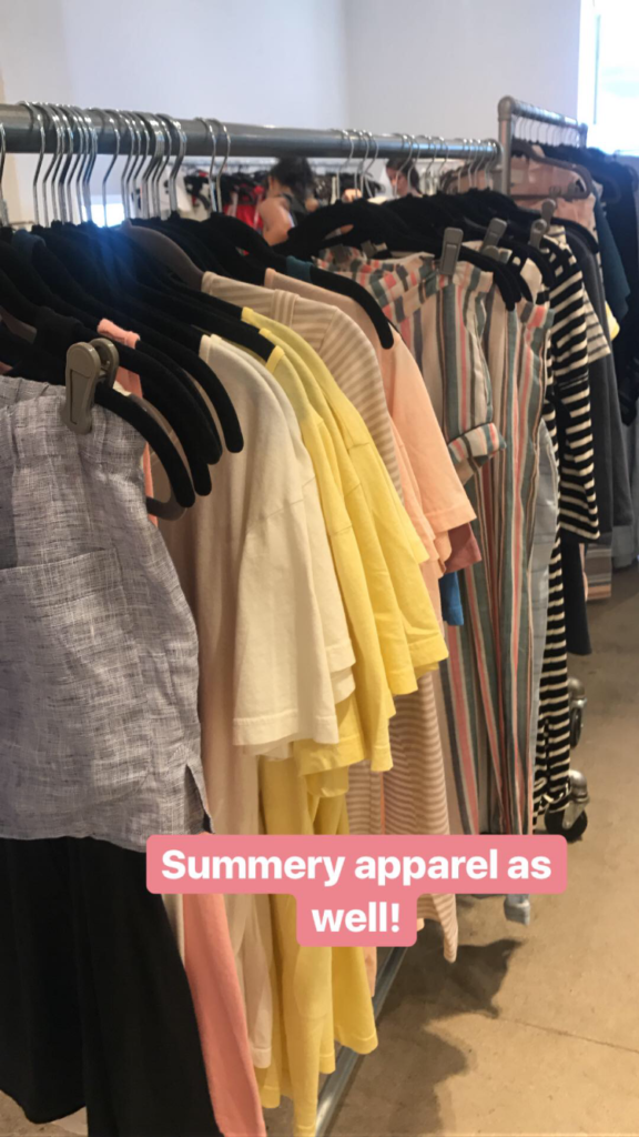 Solid & Striped sample sale
