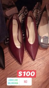 Butter Shoe Sample Sale
