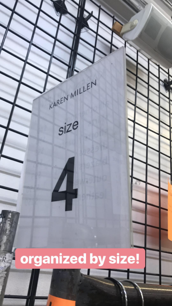 Karen Millen sample sale